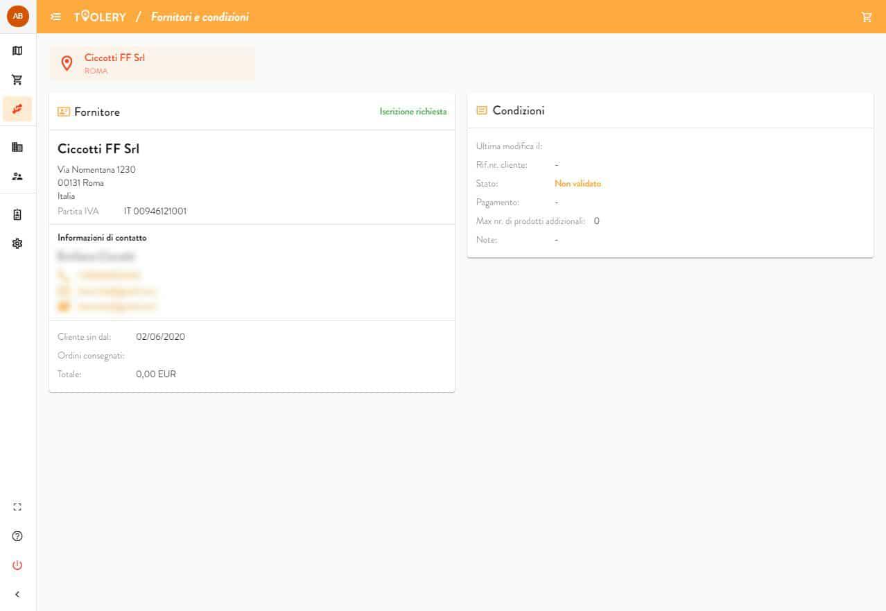 Toolery Imprese edili Listini personalizzati